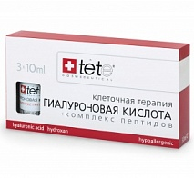 Гиалуроновая кислота с комплексом пептидов (Hyaluronic Acid & Peptides) | TETE