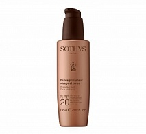 Защитное молочко для лица и тела SPF 20, 100 мл (Protective Fluid Face And Body SPF20 Moderate Protection UVA/UVB) | SOTHYS