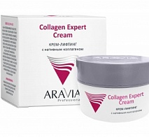 Крем-лифтинг с нативным коллагеном Collagen Expert Cream, 50 мл | ARAVIA (Аравия)