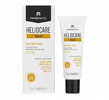 Солнцезащитный гель с SPF 50 Heliocare Gel Oil-Free Dry Touch SPF 50 Sunscreen, 50 мл | Cantabria Labs