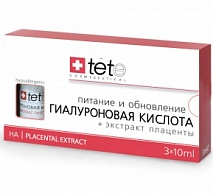 Гиалуроновая кислота с эктрактом плаценты (Hyaluronic Acid & Placental Extract) | TETE