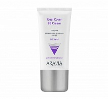 BB-крем увлажняющий SPF-15, тон 02 Sand (Ideal Cover BB-Cream) | ARAVIA (Аравия)